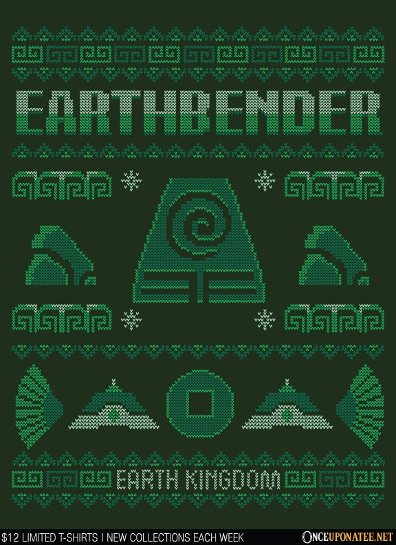 Once Upon a Tee: Earth Kingdom's Sweater