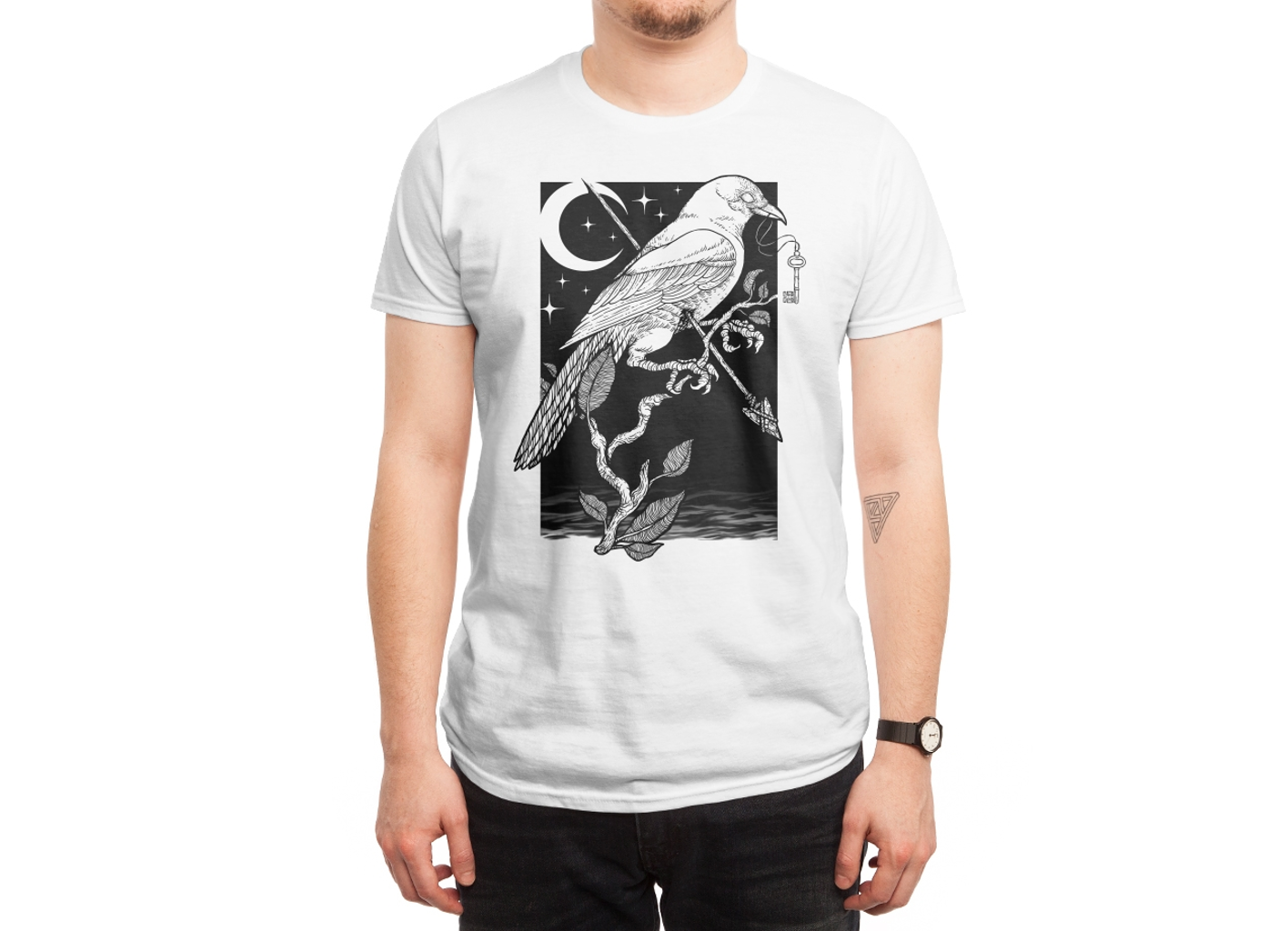 Threadless: Night Crow