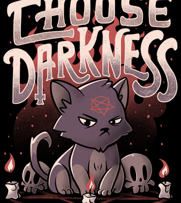 teeVillain: Choose Darkness