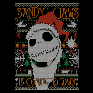 Pop-Up Tee: Sandy Claws