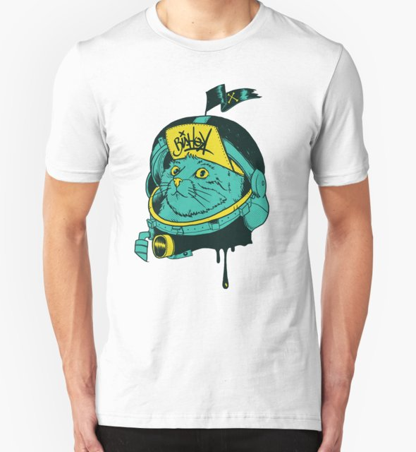 RedBubble: Space cat