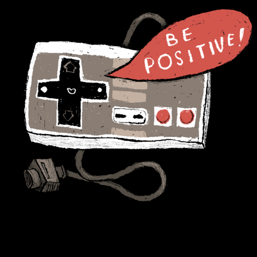 NeatoShop: be positive - nes controller