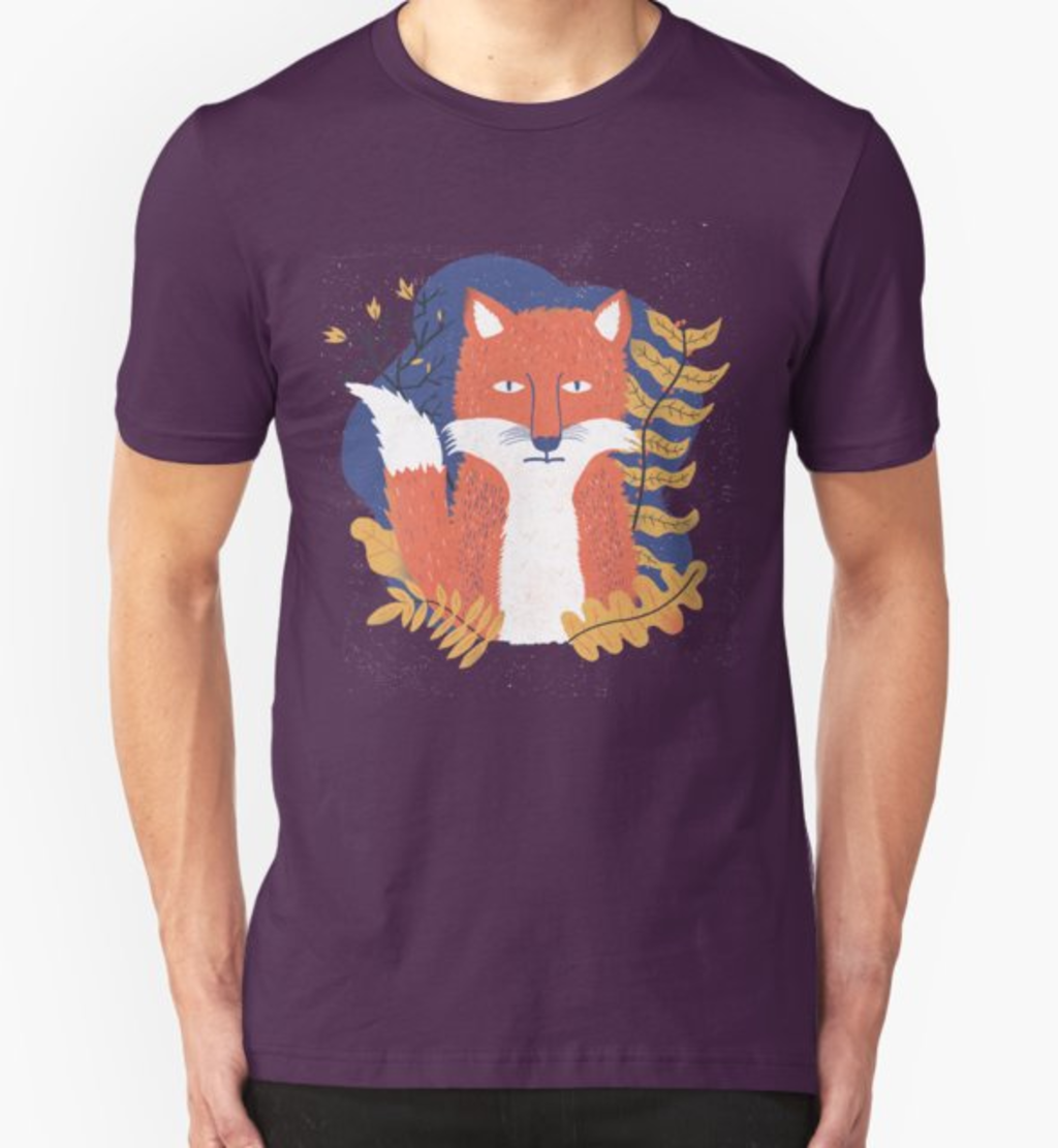 RedBubble: Bored fox
