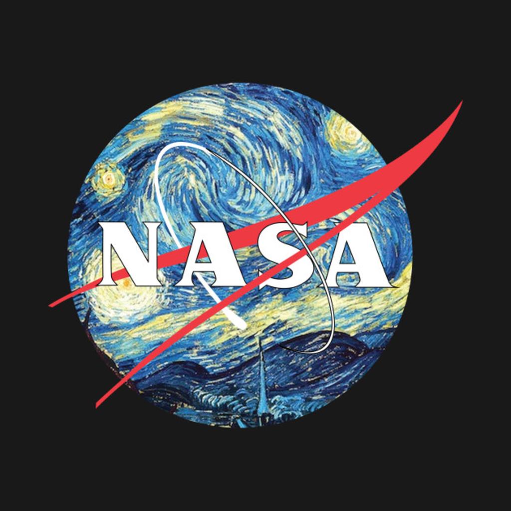 TeePublic: The Starry NASA