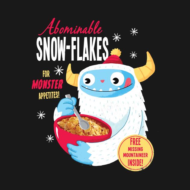TeePublic: Abominable Snowflakes