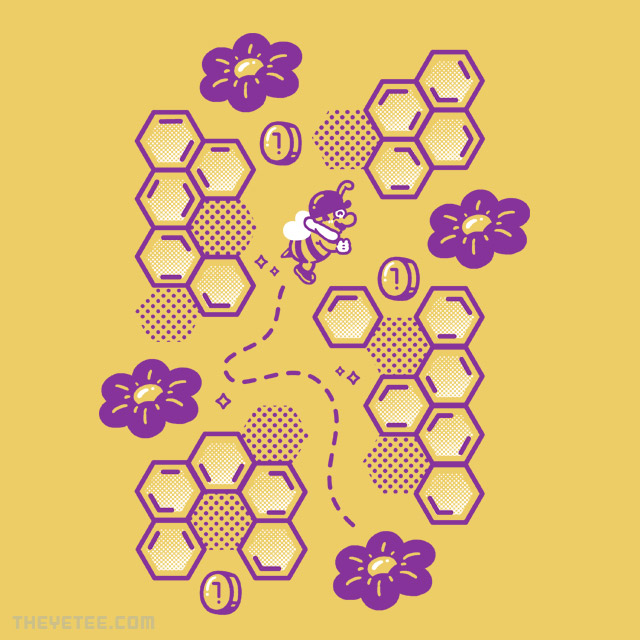 The Yetee: Buzz Buzz