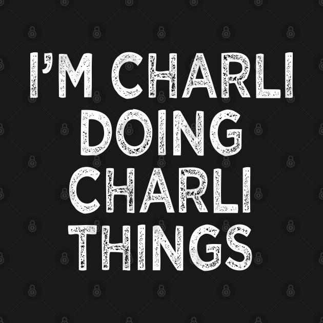 TeePublic: Charli