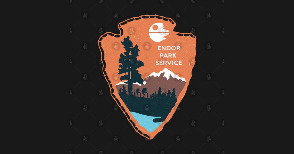 TeePublic: Planetary Park Service