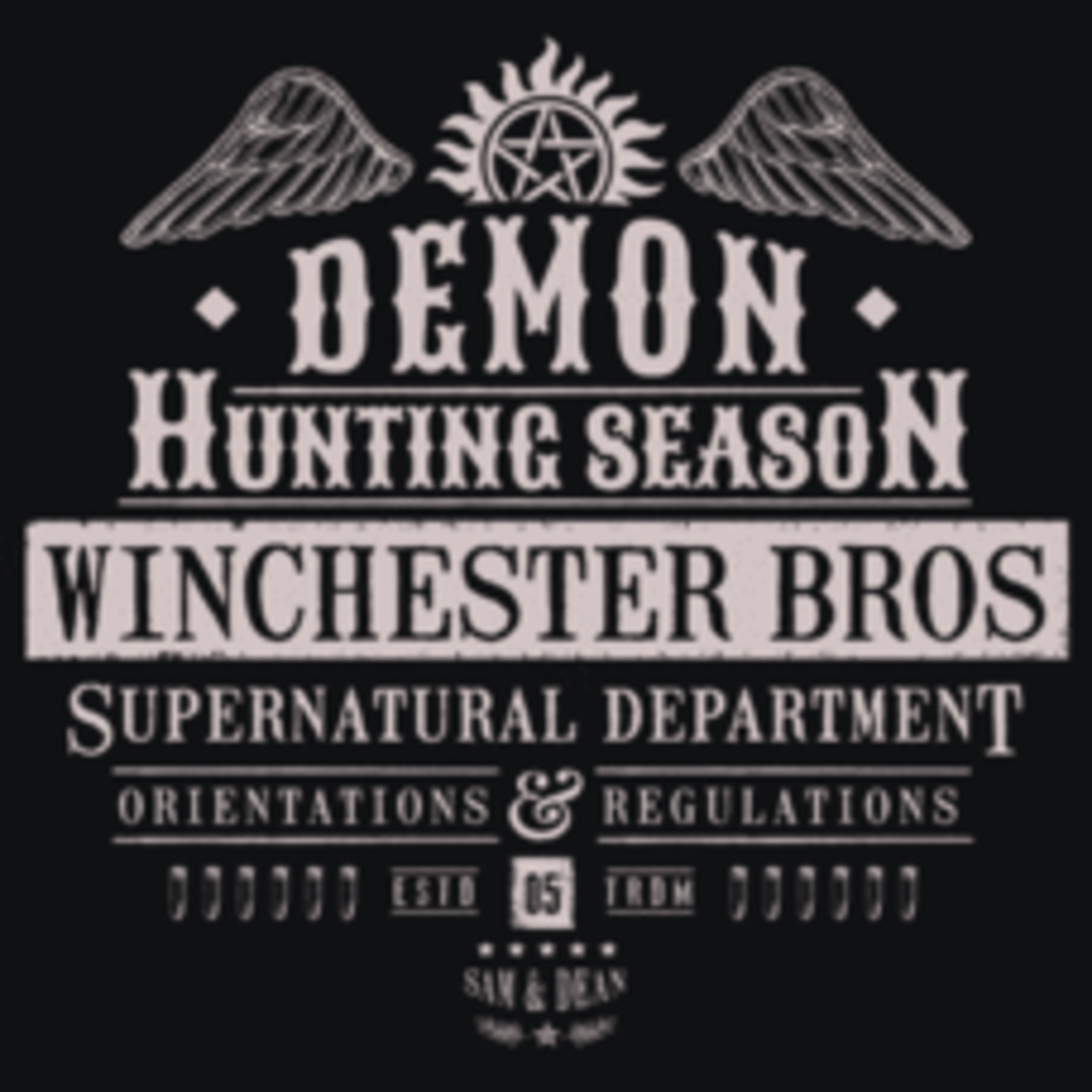 Textual Tees: Demon Hunting Season