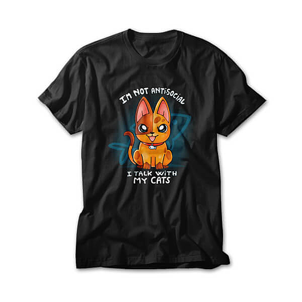OtherTees: I Talk with my cats