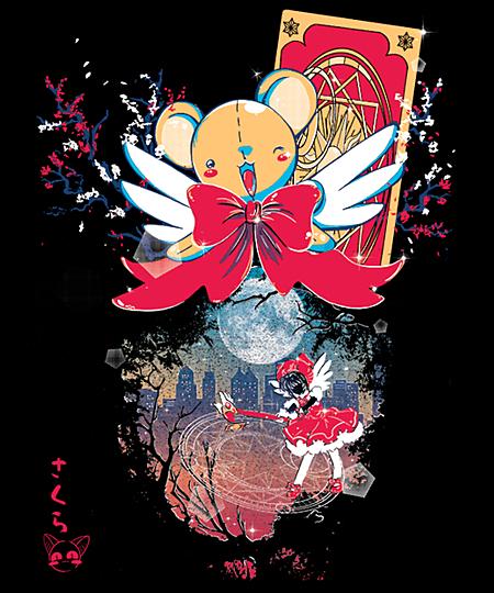 Qwertee: Sakura Spring
