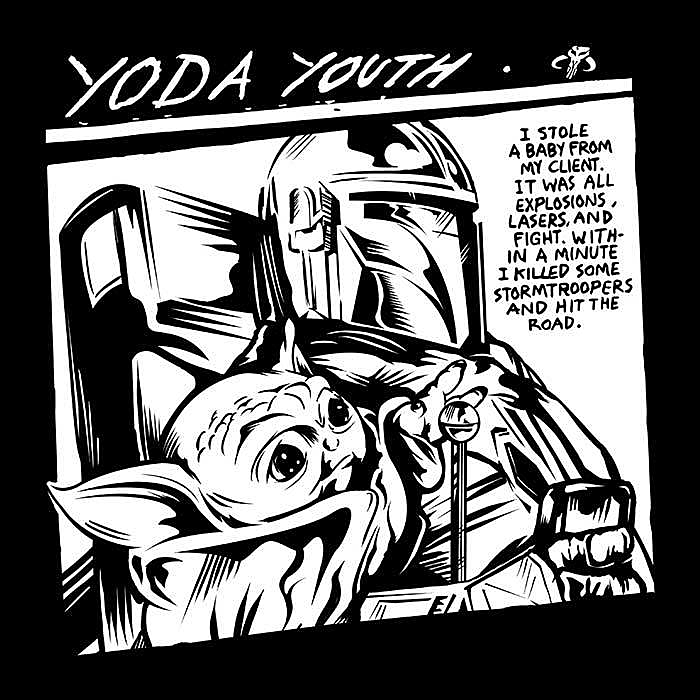 Once Upon a Tee: Yoda Youth
