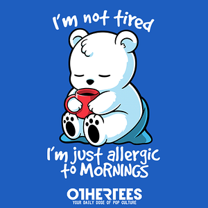 OtherTees: Tired polar bear