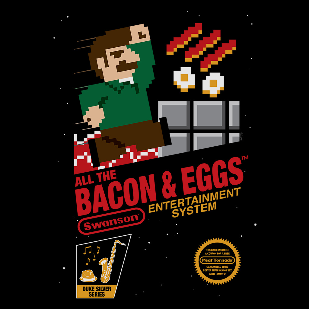 Pop-Up Tee: Bacon Eggs