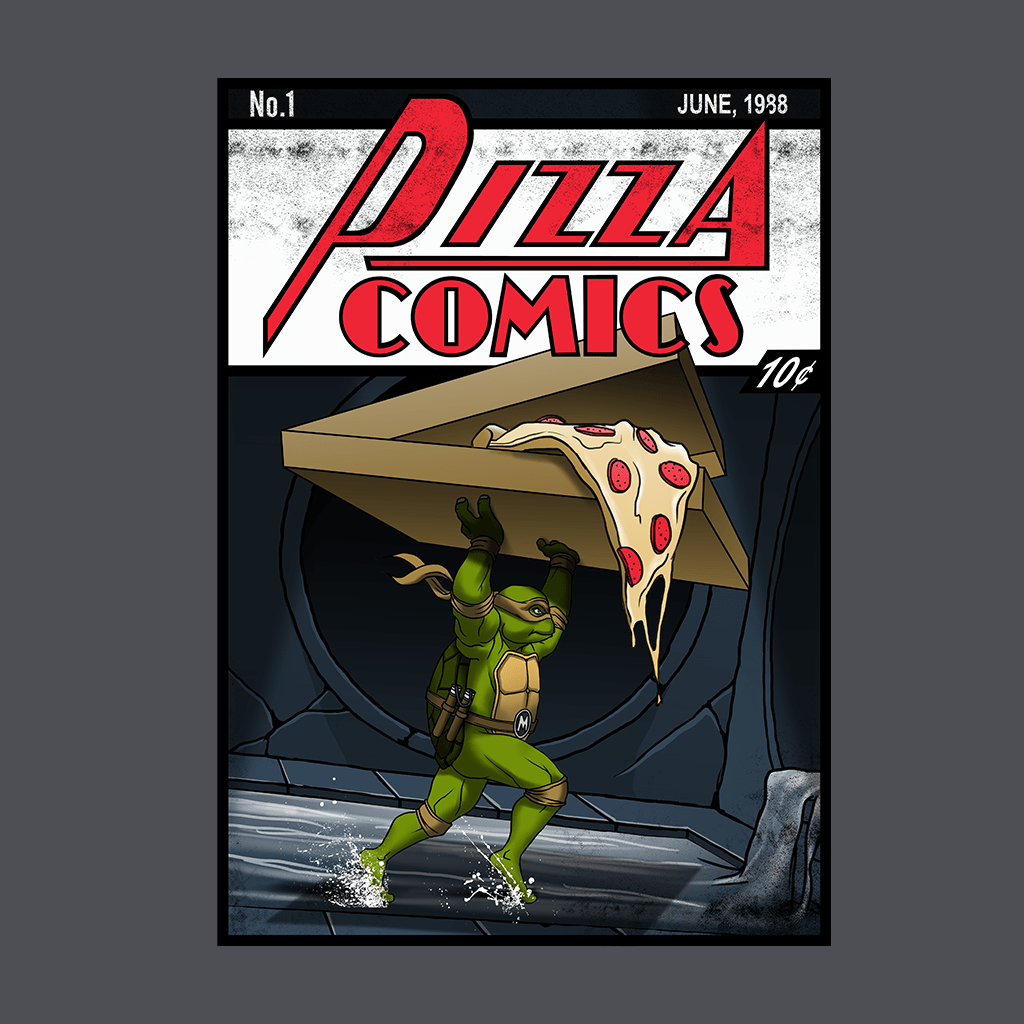 Pop Vulture: Pizza Comics