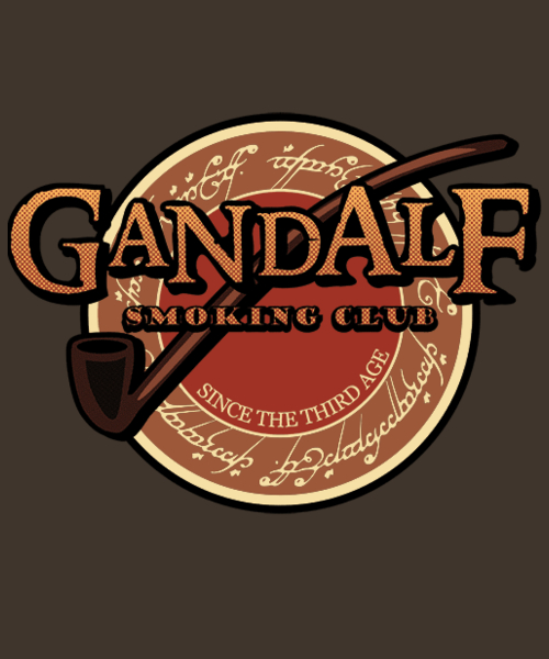 Qwertee: smokin' club
