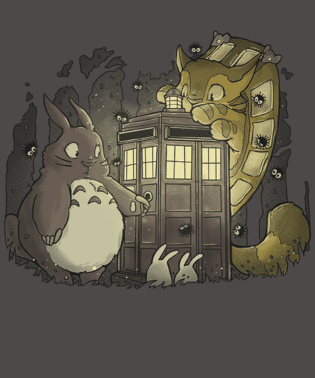 Qwertee: Tardis in the Forest