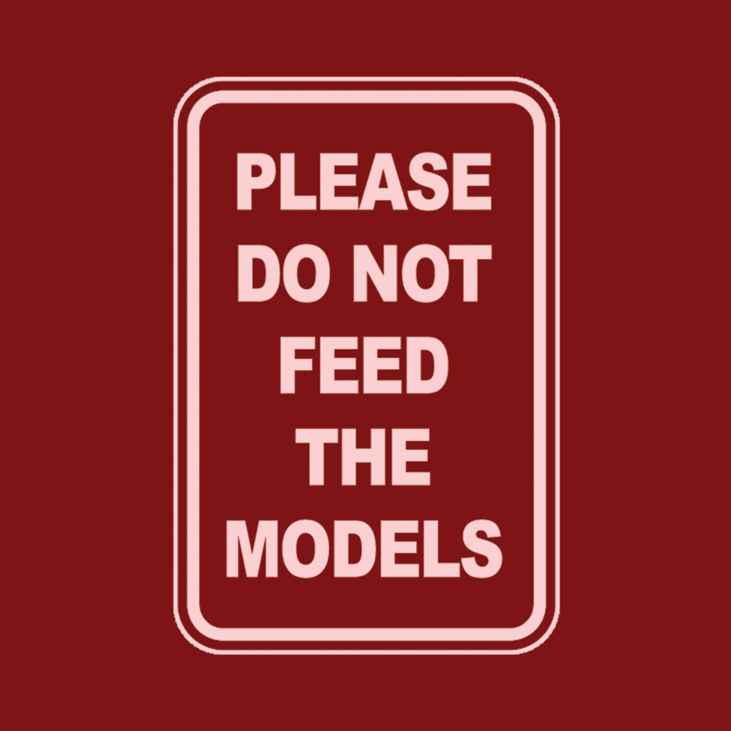 LivingTees: Please Do Not Feed The Models