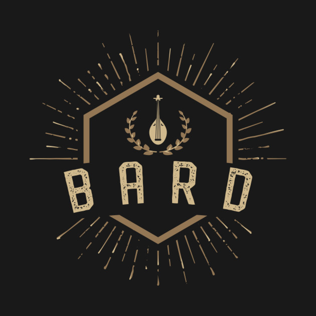 TeePublic: Bard Character Class Tabletop Roleplaying RPG Gaming Addict