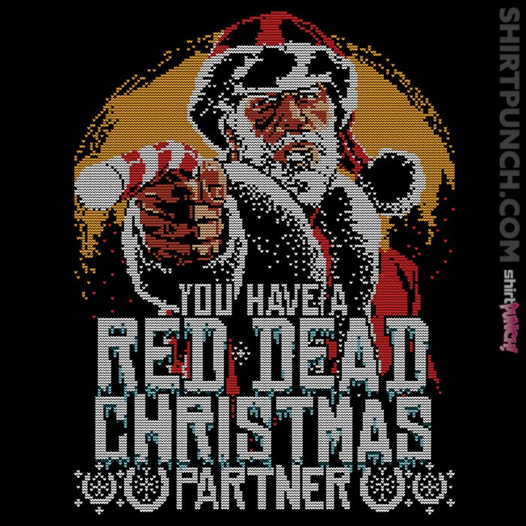 ShirtPunch: Red Dead Christmas