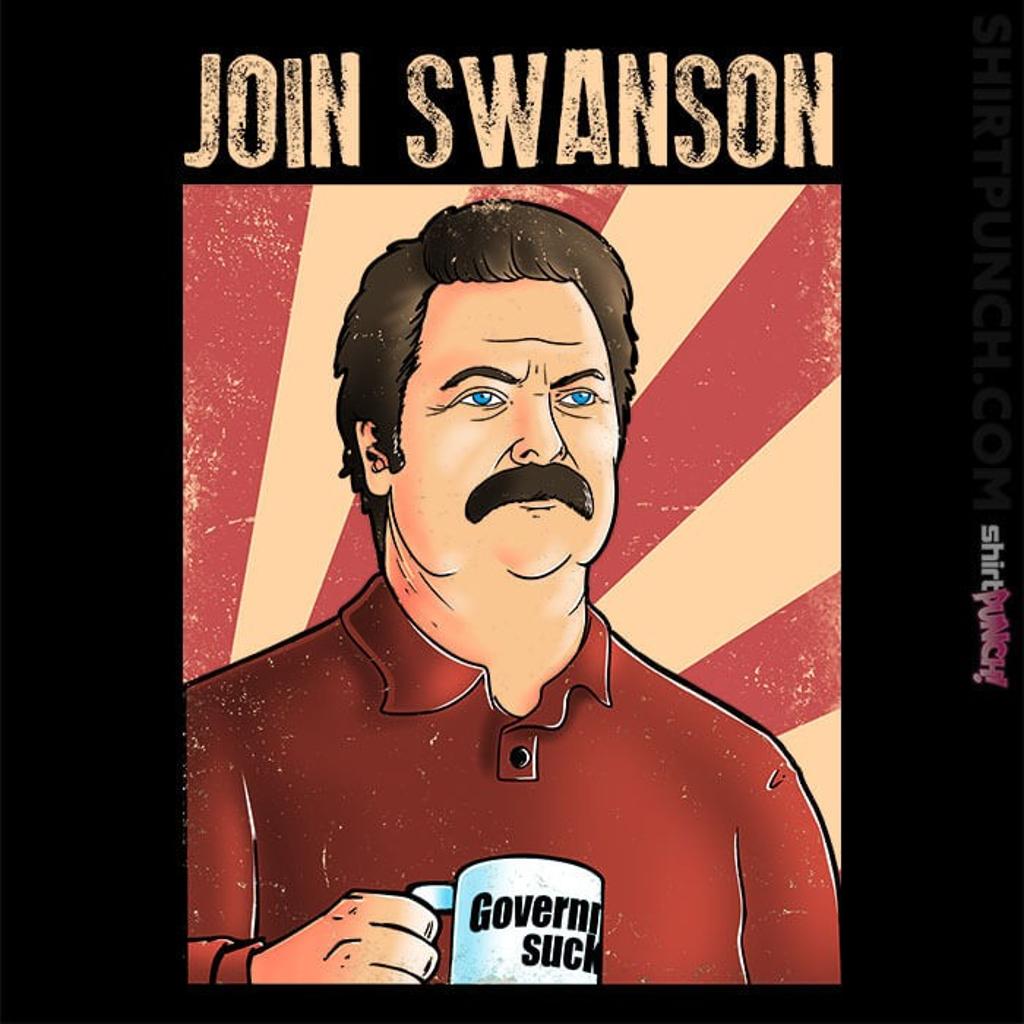 ShirtPunch: Join Swanson