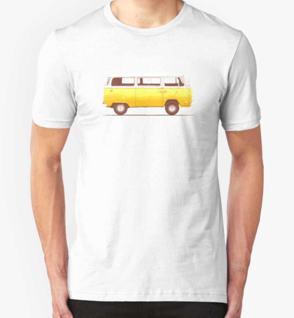 RedBubble: Yellow Van