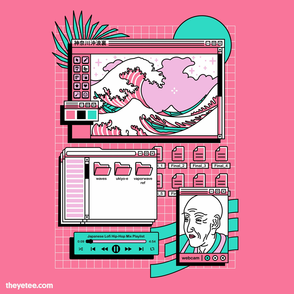 The Yetee: The Great Vaporwave