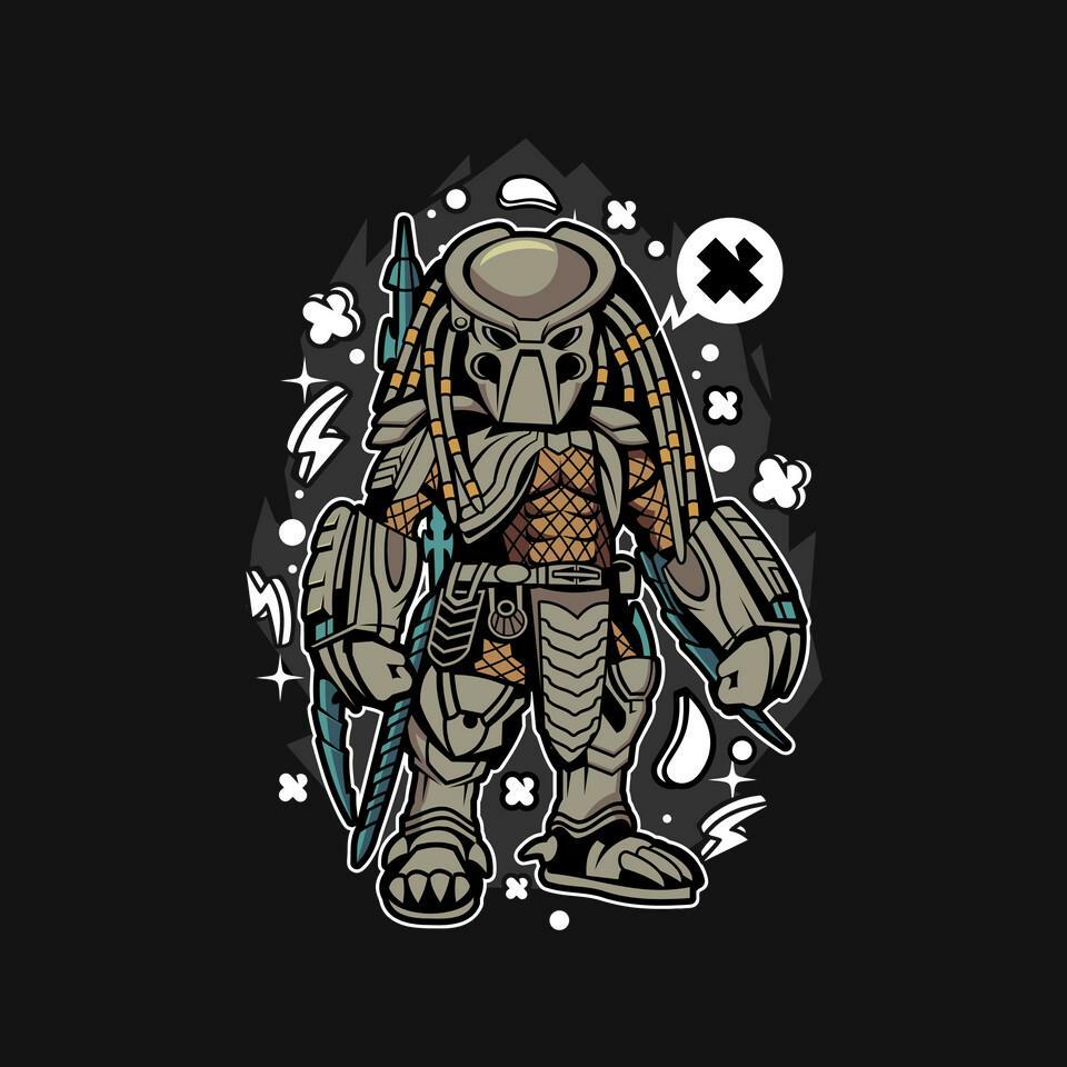 TeeFury: Team Predator