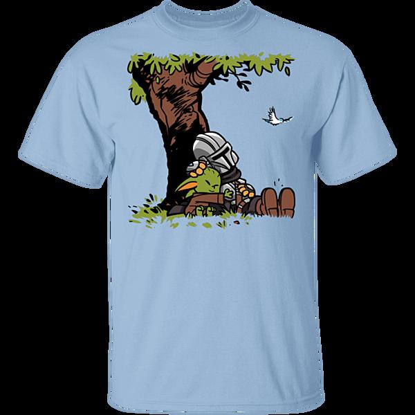 Pop-Up Tee: Tree Yoda Calvin