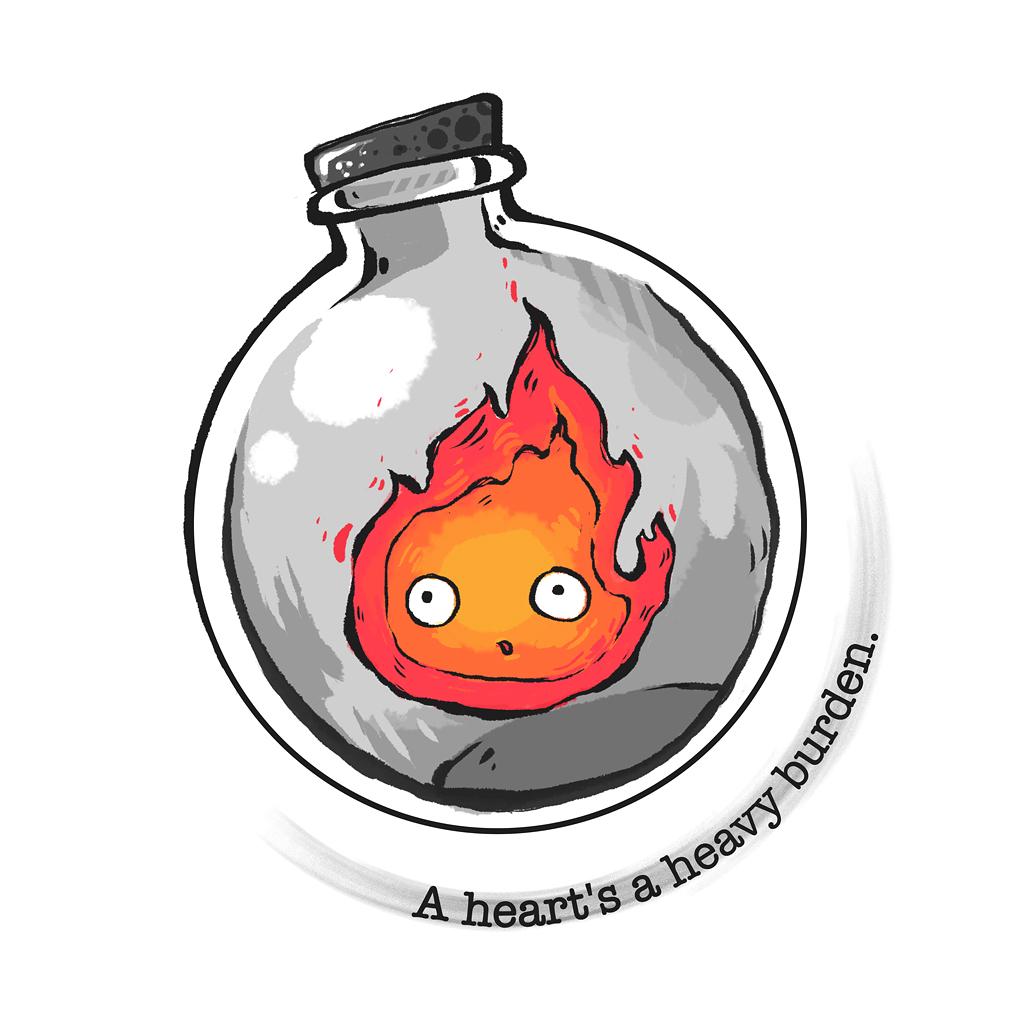 TeeTee: A heart is a heavy burden.