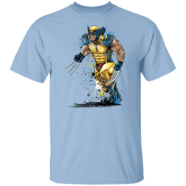 Pop-Up Tee: Mutant Rage Watercolor