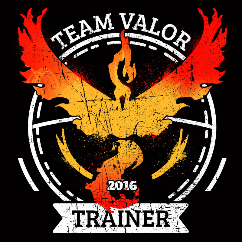 Pampling: Team Valor