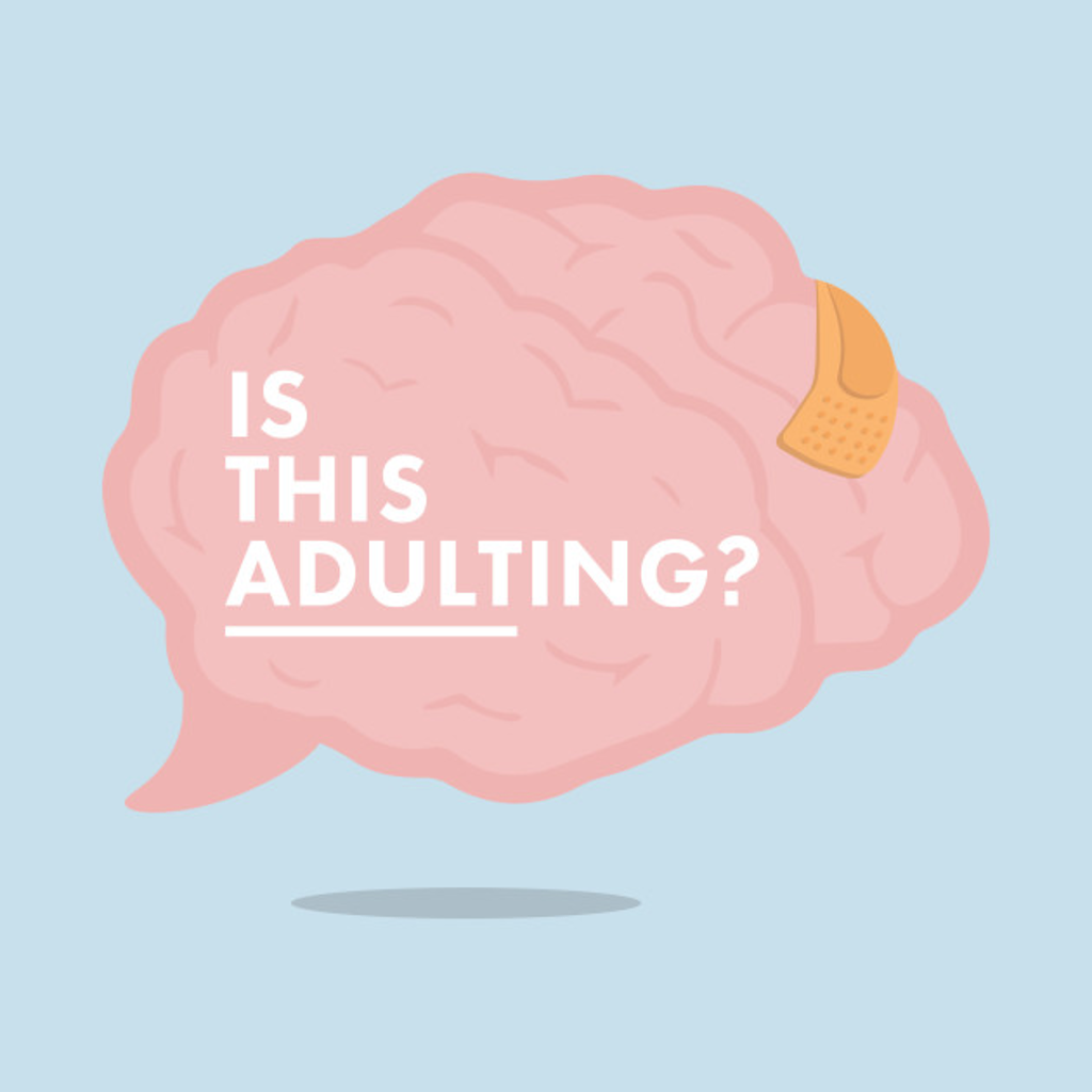 TeePublic: Is This Adulting? Logo