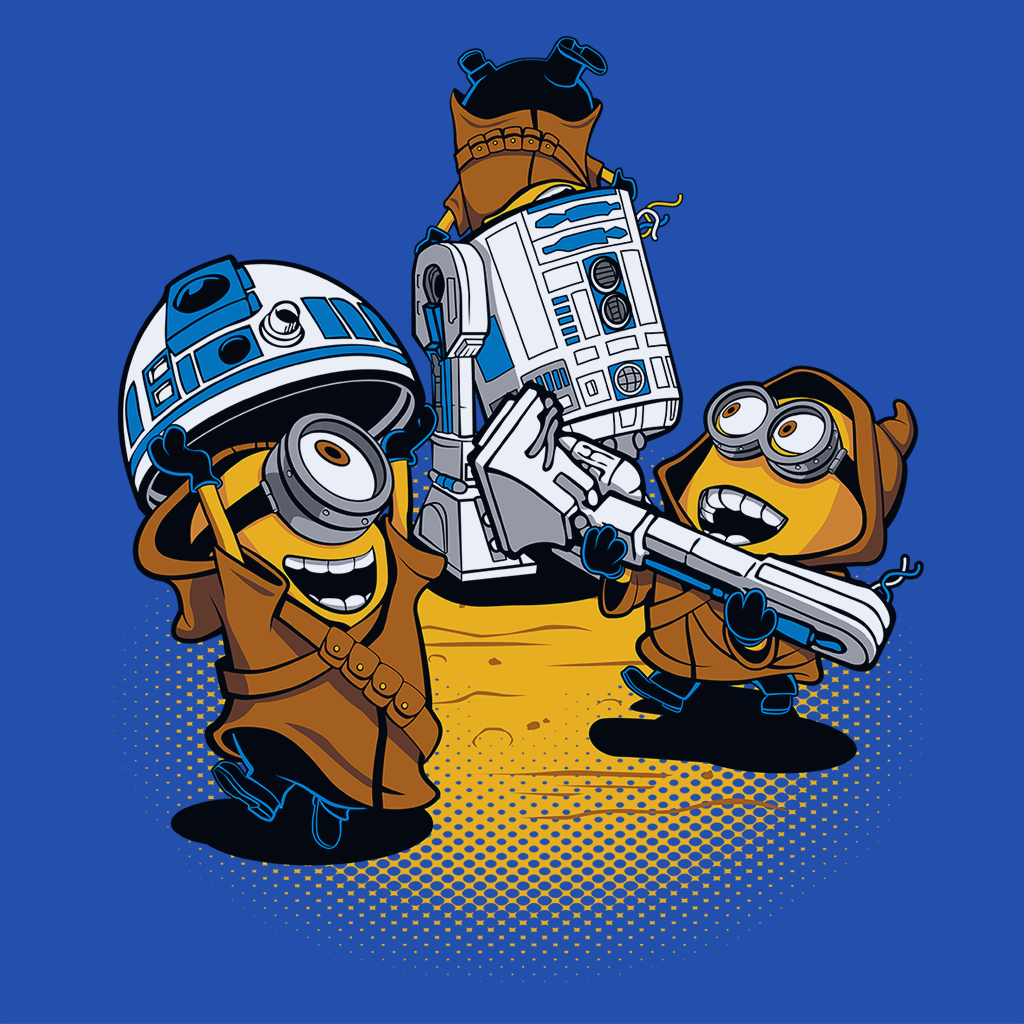 Pop-Up Tee: Despicable Jawas