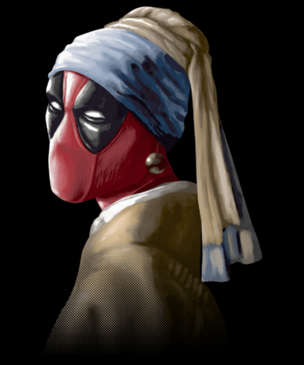 Qwertee: Hero with a pearl earring