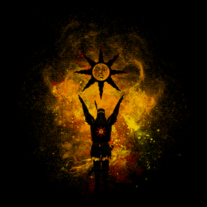 Pop-Up Tee: Praise The Sun Art