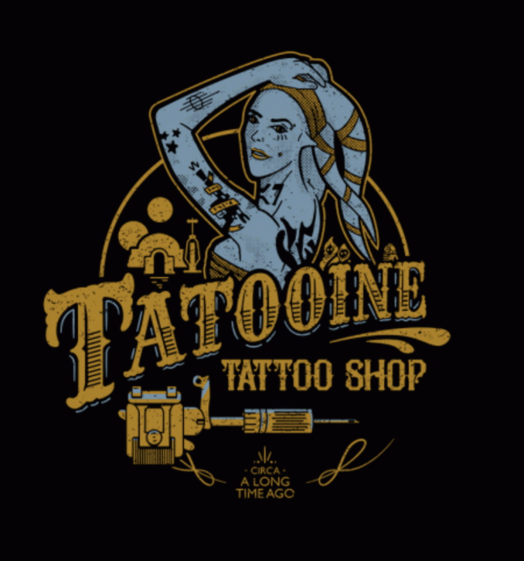 BustedTees: Tatooine Tattoo