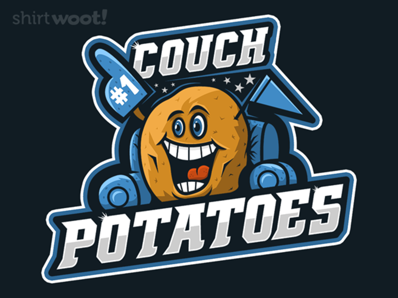 Woot!: The Couch Potatoes