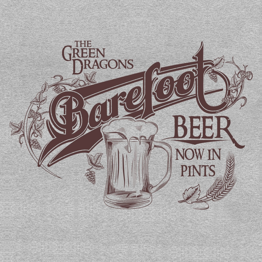 TeeTournament: Barefoot Beer A the Green Dragon