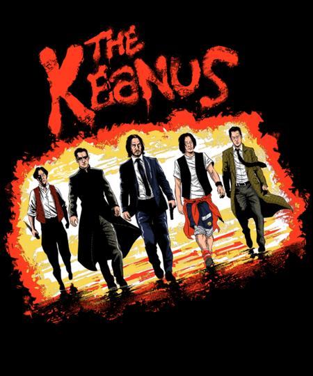 Qwertee: The Keanus