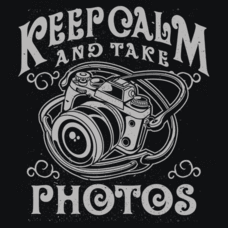 Textual Tees: Keep Calm and Take Photos