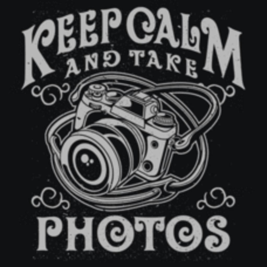 Textual Tees: Keep Calm and Take Photos