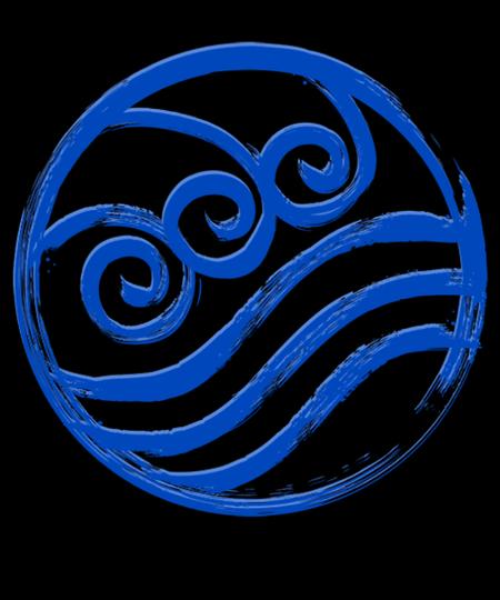 Qwertee: Water Symbol