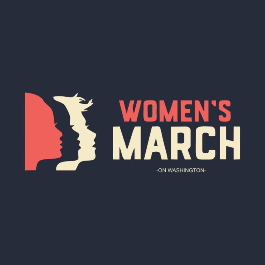 TeePublic: Women's March on Washington T-Shirt