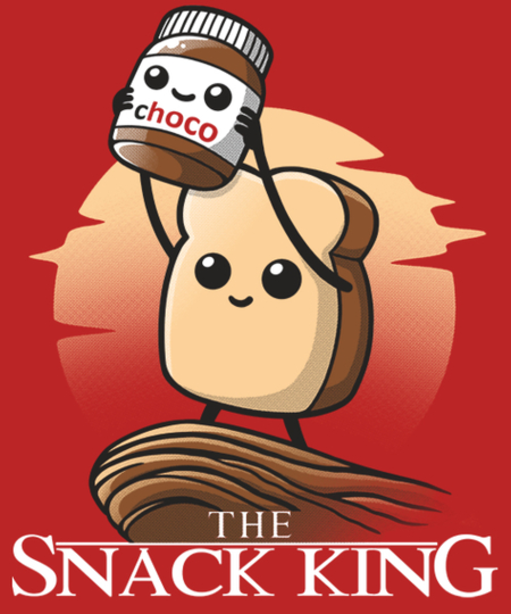 Qwertee: The snack king