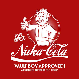Five Finger Tees: Nuka-Cola T-Shirt