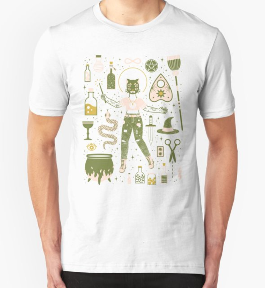RedBubble: The Witch