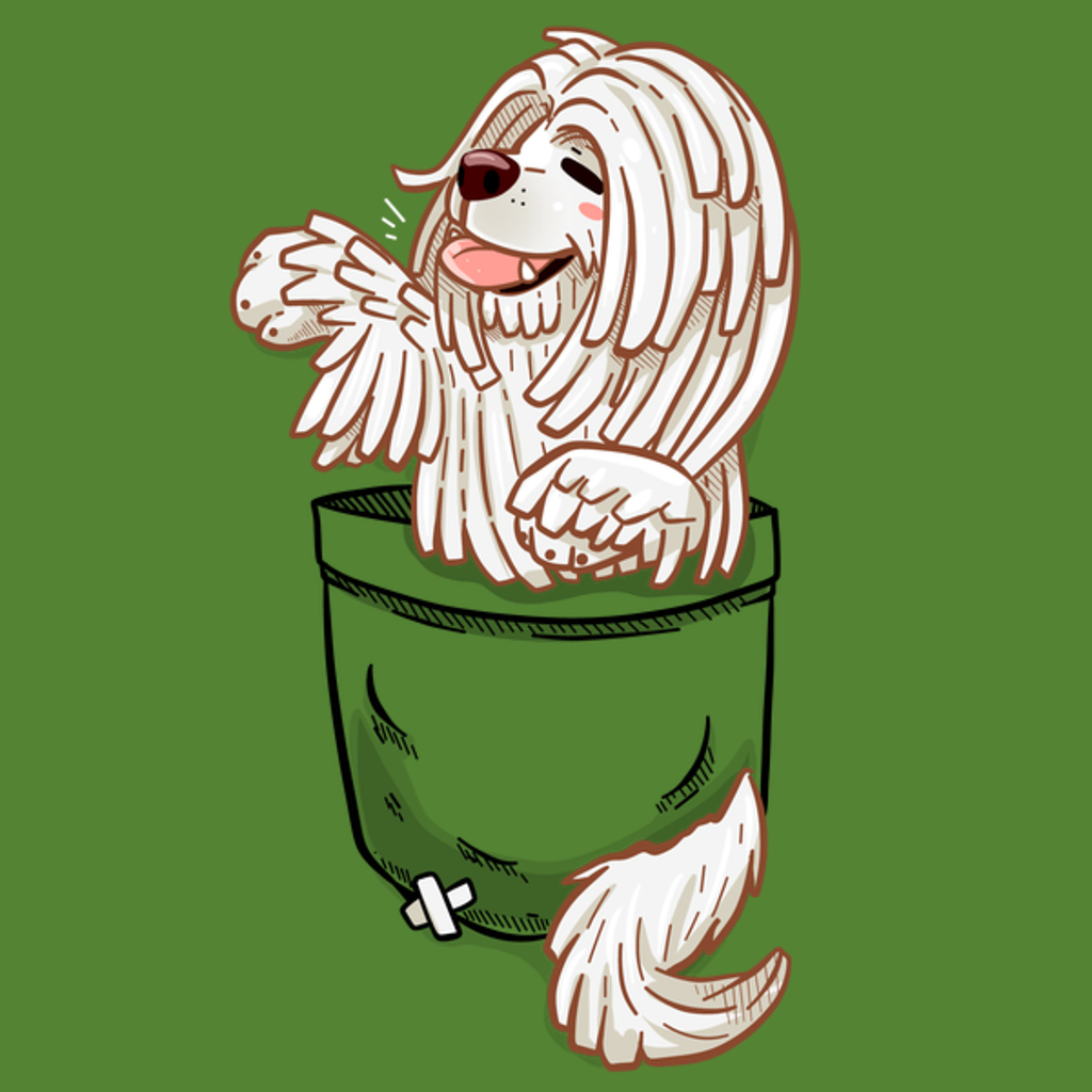 NeatoShop: Pocket Cute Komondor Dog