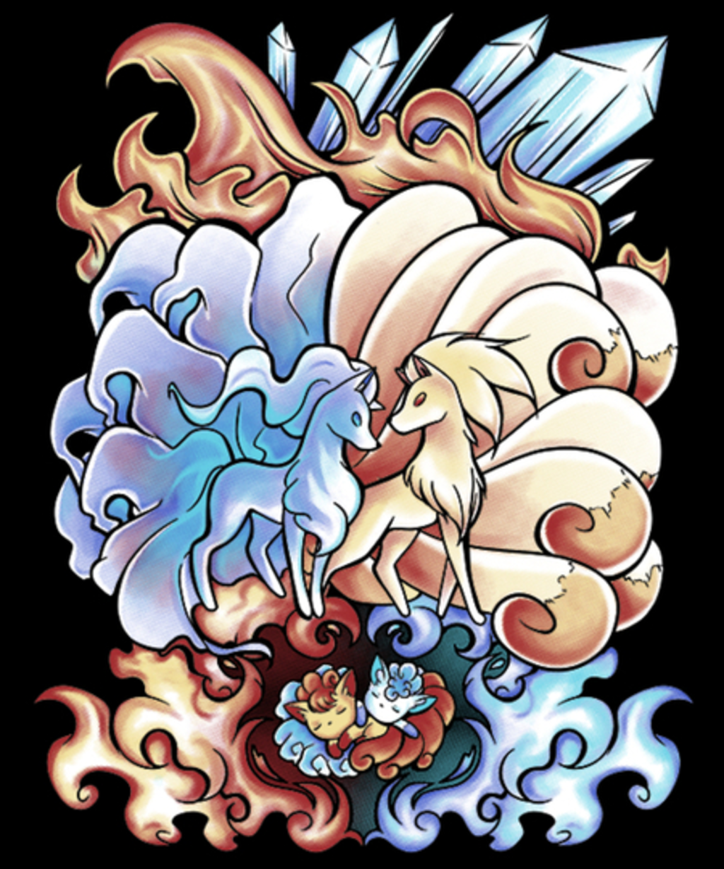 Qwertee: Ice and Fire