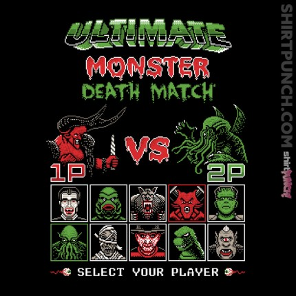 ShirtPunch: Ultimate Monster Death Match